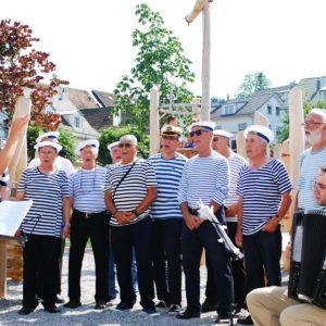 Einweihung Seeuferpromenade in Rüschlikon am 5. Juli 2015